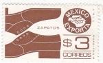 Sellos de America - México -  MEXICO EXPORTA- CALZADO