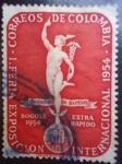 Stamps Colombia -  I Feria Exposición Internacional 1954