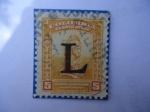 Stamps Colombia -  monumento Precolombino