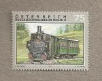 Stamps Austria -  Tren a Bregenz