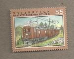 Stamps Austria -  tren alpino a Mariazeller