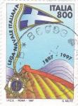 Sellos de Europa - Italia -  LIGA NAVAL ITALIANA 1897-1997