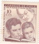 Sellos de America - Chile -  CAMARA NACIONAL DE ALFABETIZACIÓN