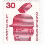 Stamps Germany -  TIEMPO DE SEGURIDAD