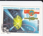 Sellos de Europa - Rusia -  INTERCOSMOS