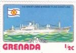 Stamps Grenada -  TRANSATLANTICO