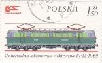 Stamps Poland -  LOCOMOTORA ELECTRICA ET-22  1969