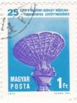 Stamps Hungary -  25 AÑOS DE LA COOPERACIÓN CIENTÍFICO-TECNICA HUNGARO-SOVIÉTICA