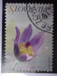 Sellos de Europa - Eslovenia -  Flora Eslovena-Pulsatilla grandis