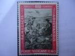 Stamps Vatican City -  Poste Vaticane-Jesús en el Mar de Galilea. Oleo de Rafaello Sanzio.