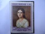 Stamps Vatican City -  Poste Vaticane-Cent.de la Muerte de Paulina M. Jaricot-(1862-1962)