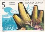 Stamps Spain -  Esponja de Mar   (Y)