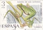Stamps Spain -  Ranita de San Antonio-FAUNA HISPÁNICA  (y)