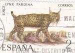 Sellos de Europa - España -  Lince-FAUNA HISPÁNICA  (y)