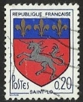 Stamps : Europe : France :  ESCUDOS PROVINCIAS  - SAINT- LO