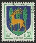 Stamps : Europe : France :  ESCUDOS PROVINCIAS  - GUERET