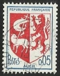 Stamps : Europe : France :  ESCUDOS PROVINCIAS  - AUCH