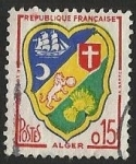 Stamps : Europe : France :  ESCUDOS PROVINCIAS  - ALGER