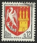 Stamps : Europe : France :  ESCUDOS PROVINCIAS  - AGEN