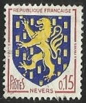 Stamps : Europe : France :  ESCUDOS PROVINCIAS  - NEVERS