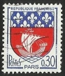 Stamps : Europe : France :  ESCUDOS PROVINCIAS  - PARIS