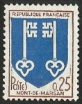 Stamps : Europe : France :  ESCUDOS PROVINCIAS  - MONT - DE - MARZAN