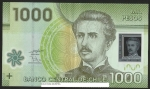 monedas de America - Chile -  IGNACIO CARRERA PINTO -NUEVOS MIL PESOS