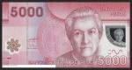monedas de America - Chile -  GABRIELA MISTRAL - CINCO MIL PESOS