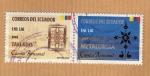 Sellos del Mundo : America : Ecuador :  Scott 1664 a y b. Cuenca Artesanal.