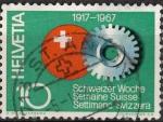 Stamps Switzerland -  50 AÑOS SEMANA SUIZA