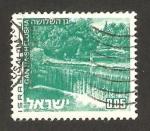 Stamps : Asia : Israel :  459 - Vista de Gan Hasheloska