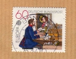 Stamps : Europe : Germany :  Michel 1012. Europa 1979.