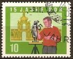 Sellos de Europa - Alemania -  15 años DDR.