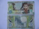 monedas de America - Colombia -  Bco.de la República-Cinco Mil peso-Poeta:José Asunción Silva