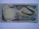 monedas del Mundo : America : Colombia :  El Banco de la República-Mil Pesos-Monumento:Los Heroes del Pantano de Vargas 1819-(reverso)