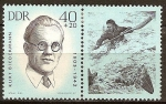Sellos de Europa - Alemania -  Anti-fascistas - Atletas, Walter Frijol 1903-1944 (DDR).