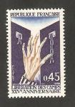 Stamps France -  1648 - 25 anivº de la liberación de los campos de concentración