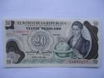 monedas del Mundo : America : Colombia :  Banco de la República-Veinte Pesos-El Sabio: Francisco José de Caldas.(anverso)