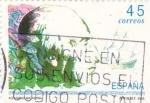 Stamps Spain -  Alejandro Malaespina  (Y)