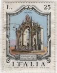 Sellos del Mundo : Europa : Italia :  Fuente. Nápoles