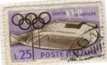 Sellos del Mundo : Europa : Italia :  Olimpiadas