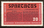 Sellos de Europa - Alemania -  Conferencia Nacional de Spartakusgruppe-DDR.
