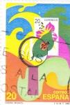 Stamps Spain -  Diseño Infantil   (Y)
