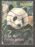 Stamps France -  0S0  PANDA