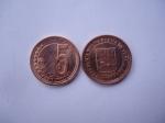 monedas del Mundo : America : Venezuela :  Rep.Bolivariana de Venezuela- 5 Céntimos 2009-(anverso y reverso)
