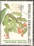 Sellos de America - Rep Dominicana -  SPONDIAS  MOMBIN  PLANTA  MEDICINAL