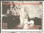 Sellos de America - Rep Dominicana -  CUEVA  DEL  POMIER  SAN  CRISTOBAL