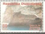 Stamps Dominican Republic -  CUEVAS  DE  LAS  GOLONDRINAS