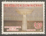 Stamps Dominican Republic -  PILA  BAUTISMAL