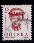 Sellos de Europa - Polonia -  Cabezas esculpidas del castillo de Wawel, Cracovia